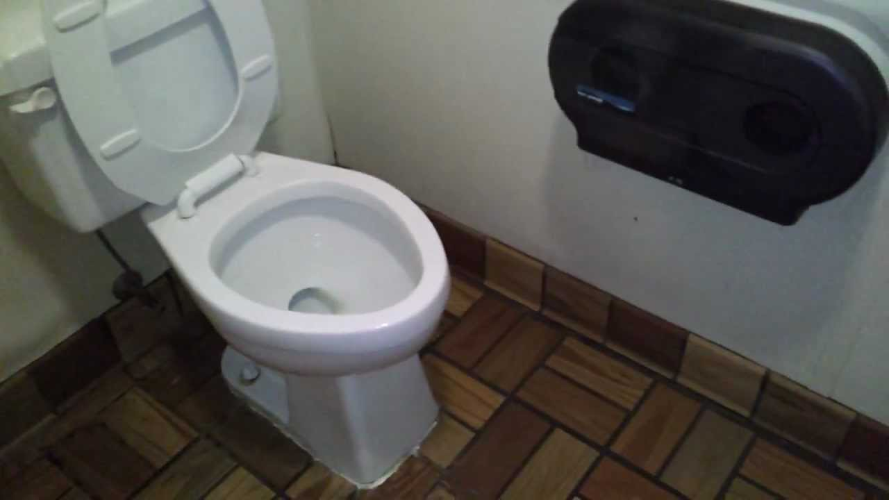 Bathroom tour older unnamed toilet at subway youtube for Commodes bathroom tour