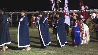 Iowa Tribe of Oklahoma 2014 Powwow Grand Entry 2nd Night