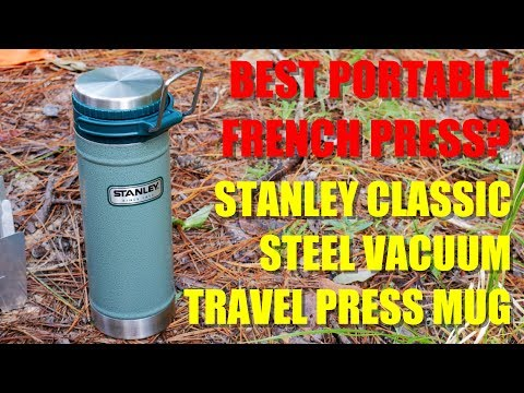 Stanley Classic Vacuum Travel Press Mug – The BEST Camping Coffee Press? – Our Newest Contender