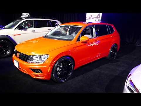 New 2018 Volkswagen Tiguan SUV - Galpin Auto Sports Custom Car - 2017 LA Auto Show