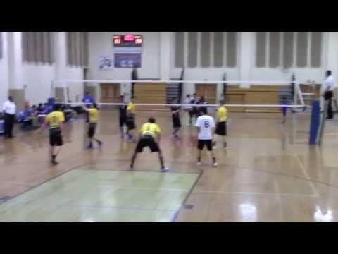 Boys volleyball (West Windsor Plainsboro High School South vs. WWP High School North)