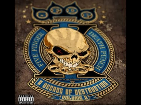 """Five Finger Death Punch to release """"A Decade Of Destruction"""" album w/ previous unreleased songs!"""