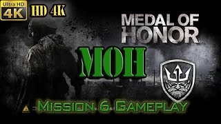 Medal of Honor (MOH) 2010 - 4K UHD - Mission #6 - Gunfighters - Gameplay (PC)