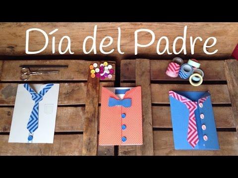 Tarjeta para el día del padre: ¡divertidas camisas!