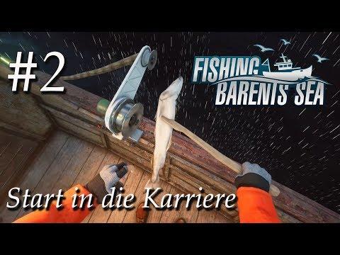 Fischerei Simulator #2 🚢  Start in die Karriere mit riskantem Auftrag   Fishing Barents Sea Deutsch