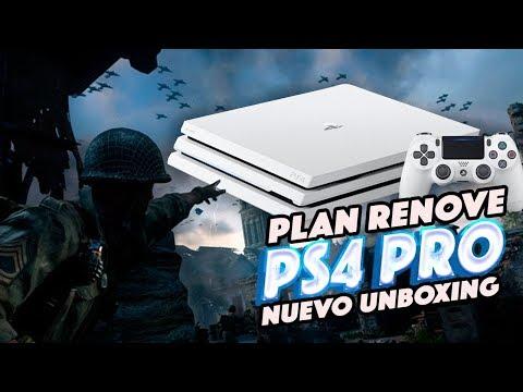 Plan Renove Ps4 Pro Me Cambio La Consola Unboxing Youtube