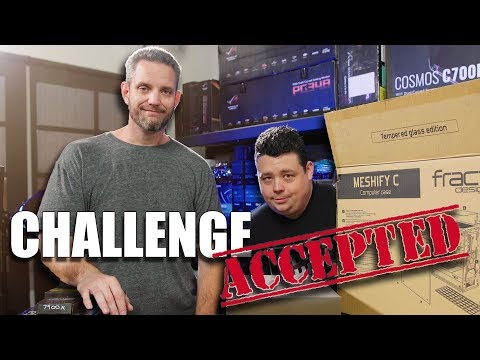 JayzTwoCents vs Barnacules... PC Build Race