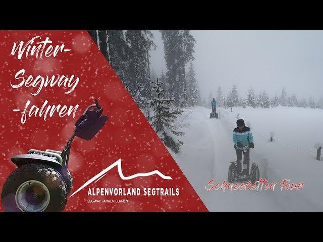 Segway Tour im Schnee - Abenteuer in Westendorf Tirol