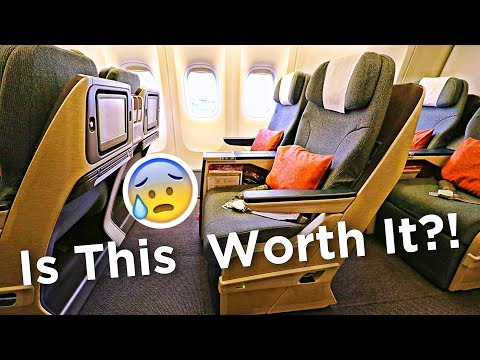 Cathay Pacific's BAD Business Class?! Tokyo to Hong Kong on an Old 777-300!