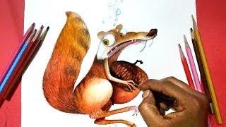 how to draw scrat- Draw animals