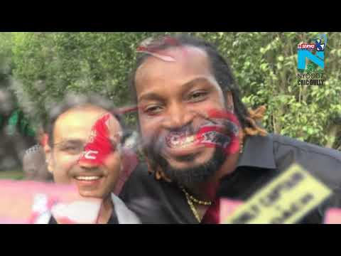 IPL 2018: Chris Gayle's Bhangra Moves To Celebrates Session's First Century