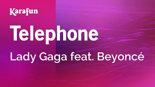 karaoke telephone   lady gaga