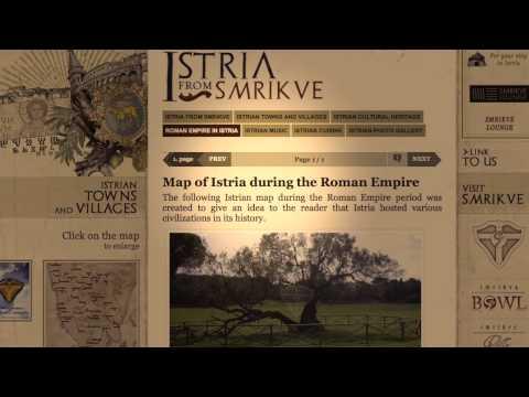 Istria from Smrikve - cultural travel guide (Istria - CROATIA - EU)