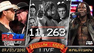 [FRLive] Le Carton de ALL IN ⊕ WWE Rabbi Weeklies ⊕ Q&A