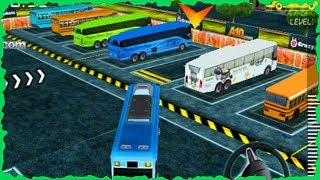 Busman Parking 3D Full Game Walkthrough All Levels
