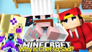 Minecraft Adventure - WHY IS CHEF SO SAD?!!