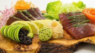 كيفية جعل طبق الساشيمي