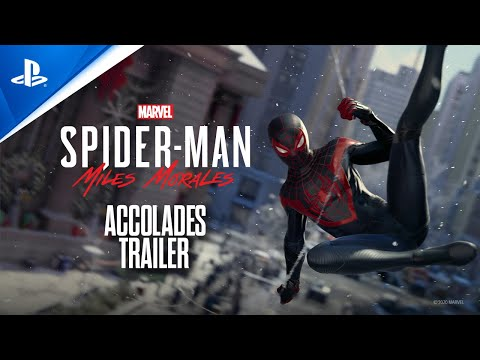 Marvel's Spider-Man: Miles Morales - Accolades Trailer | PS5, PS4