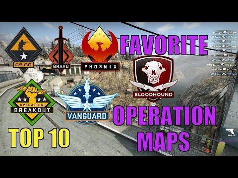 My Top 10 Favorite Operation Maps - CS:GO