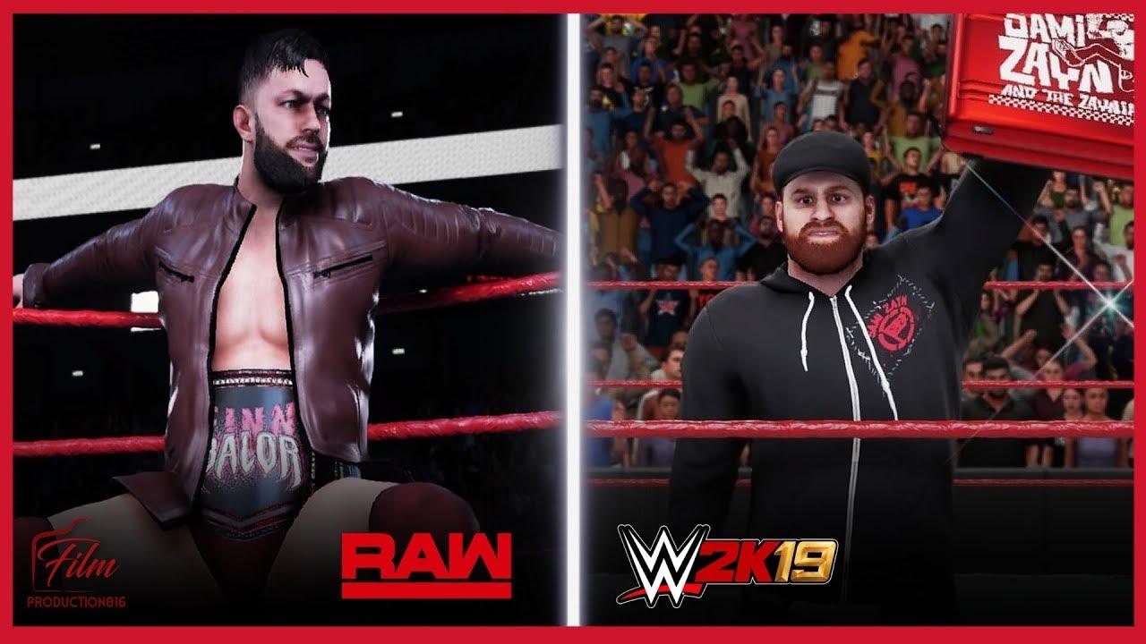 WWE 2K19 Finn Balor Universal Champion Entrance/Sami Zayn MITB Entrance