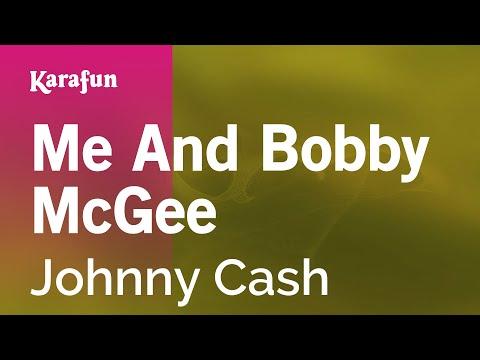 Karaoke Me And Bobby McGee - Johnny Cash *