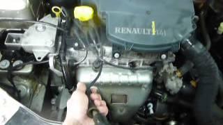 Мойка двигателя Renault Symbol