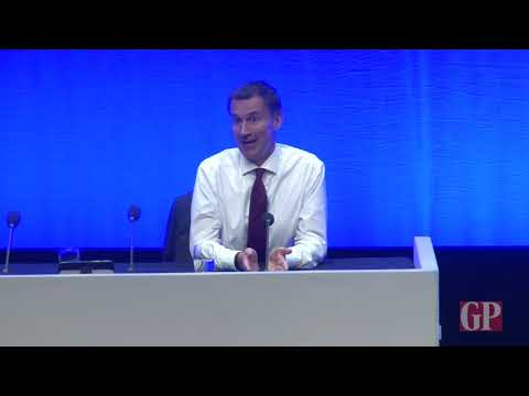 Jeremy Hunt confronted by GP delegate at RCGP annual conference