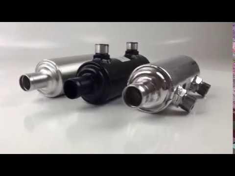 Pro Alloy Ferrari 246 oil/water heat exchangers