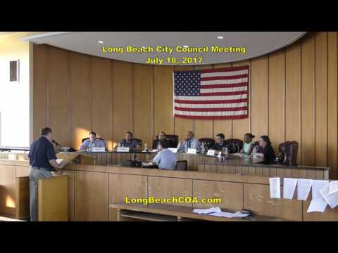 Long Beach NY City Council Meeting 07/18/17