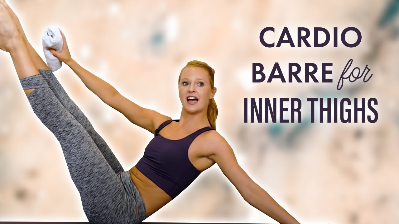 Cardio Barre No Equipment 🔥 Fat Burning Sculpt & Inner Thigh Burn Out, 30 Min Workout, At Home
