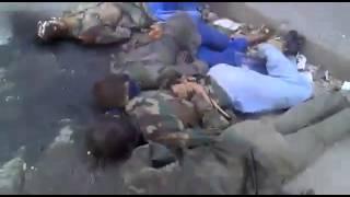казнь пленных Сирия