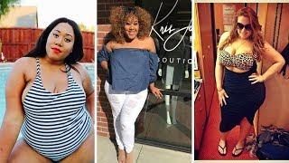 Gorgeous Curvy Plus Size Women Fashion Of the Day  - Amazing fashion style