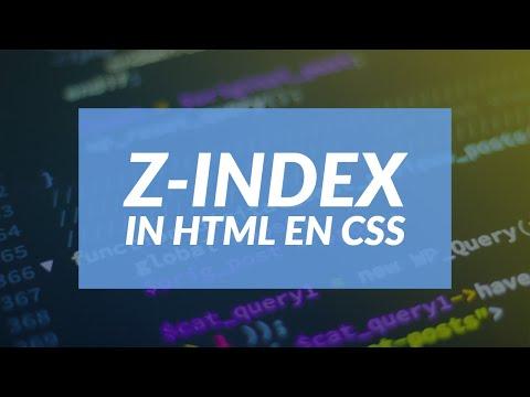 Z-index In HTML En CSS [Tutorial]