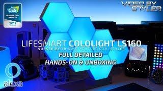 𝙇𝙞𝙛𝙚𝙎𝙢𝙖𝙧𝙩 Cololight Pro LS160 | Unboxing + Review | Build Your Light | Alexa Voice Control