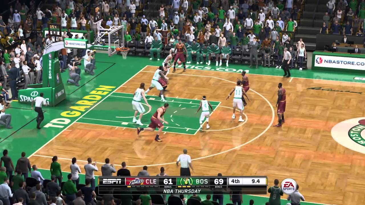NBA Playoffs 2015 - Cleveland Cavaliers vs Boston Celtics ...