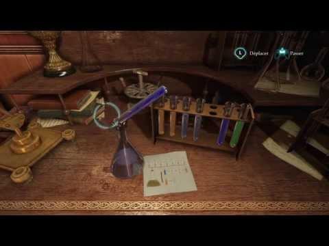 Sherlock Holmes: Crimes and Punishments / Peter le Noir - soluce agent chimique