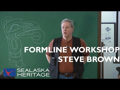 How To Draw Formline With Steve Brown, Part 1 | Sealaska Heritage