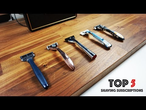 Top Shaving Club Subscriptions - Comparing The Top 5 Companies