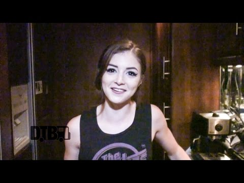 Against The Current's Chrissy Costanza Prepares Vegan Pasta Dish – COOKING AT 65MPH Ep. 21