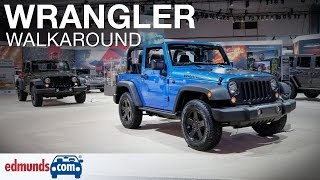 2016 Jeep Wrangler Walkaround Review