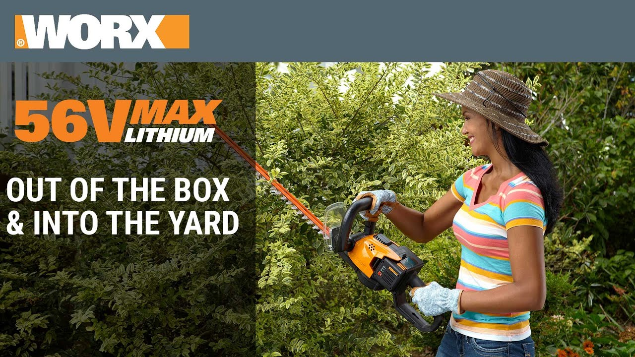 The Best Cordless Hedge Trimmer - 2019