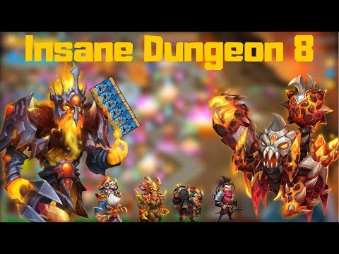 How Phantom King Got Me Through Insane Dungeon 8 | Castle Clash