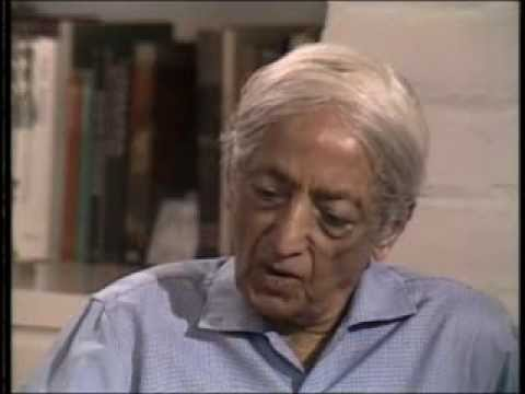 J. Krishnamurti - Beyond Myth & Tradition 1 - Conflict