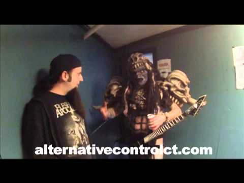 Pustulus Maximus of GWAR Interview with Alternative Control 12/12/2014 Toad's Place New Haven, CT