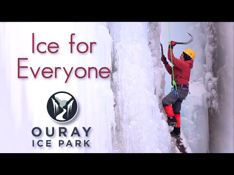 Ouray Ice Park Ice For Everyone