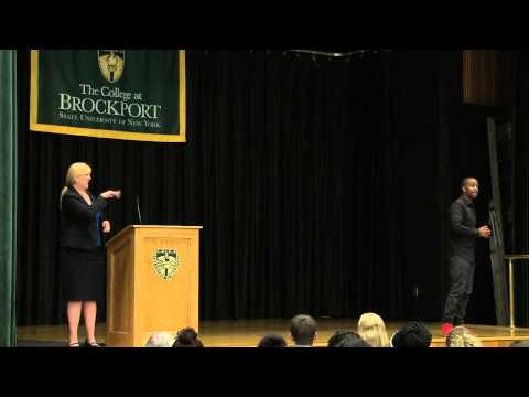 Wade Davis Keynotes The College at Brockport's 2014 Diversity Conference