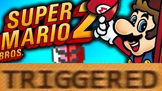 How Super Mario Bros 2 TRIGGERS You!