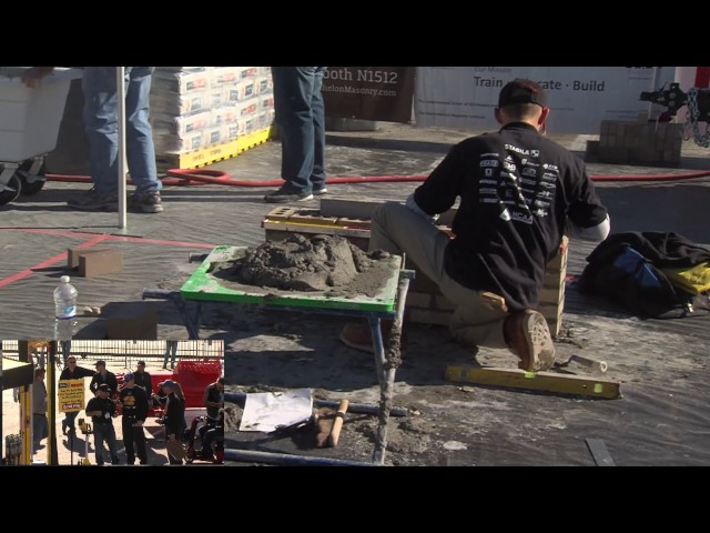 Stabilia's Hang Challenge at the 2017 SPEC MIX  BRICKLAYER 500® World Championship