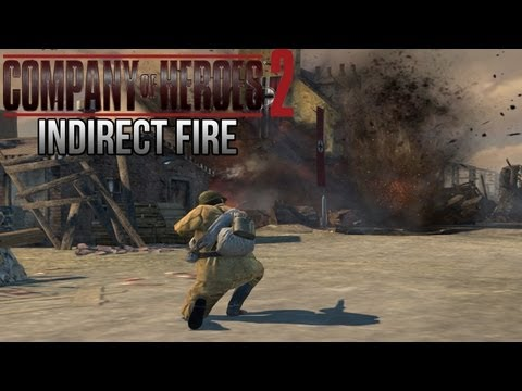 Company of Heroes 2 - Indirect Fire on General - Theater of War Gameplay 2/2
