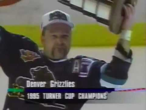 Denver Grizzlies win 1995 Turner Cup